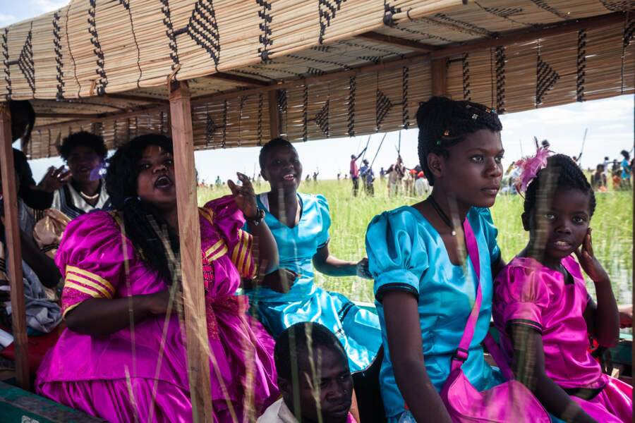 Le Kuomboka, une cérémonie annuelle
