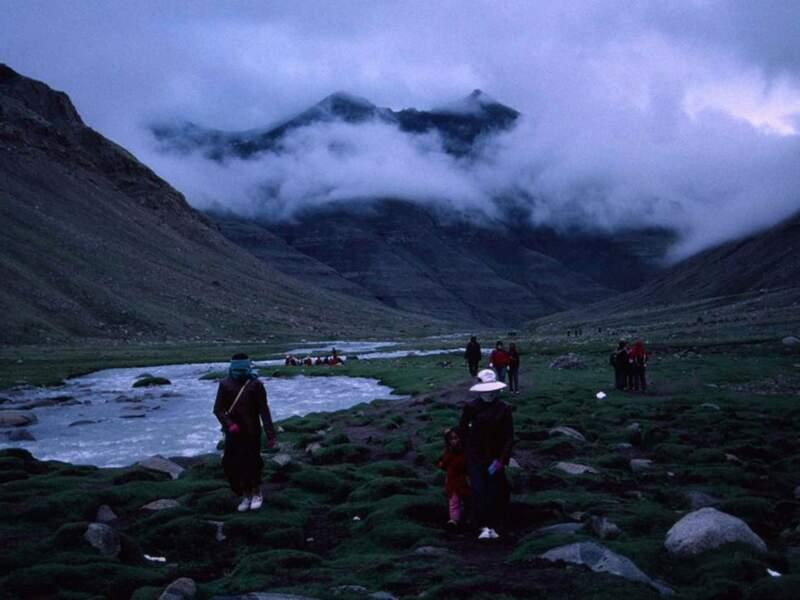 Diaporama n°13 : Au Tibet, avec les pèlerins du mont Kailash