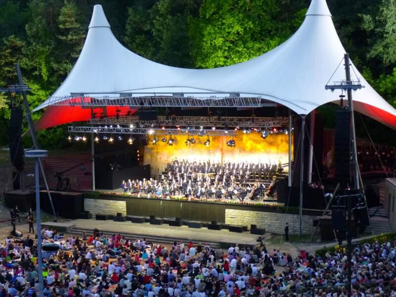 Assister à un concert à la Waldbühne