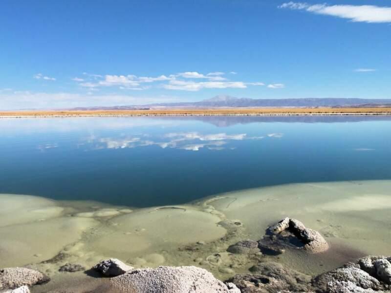 Photo prise au Laguna Cejar (Chili) par le GEOnaute : Bibi57