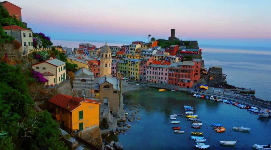 Le petit port de Vernazza