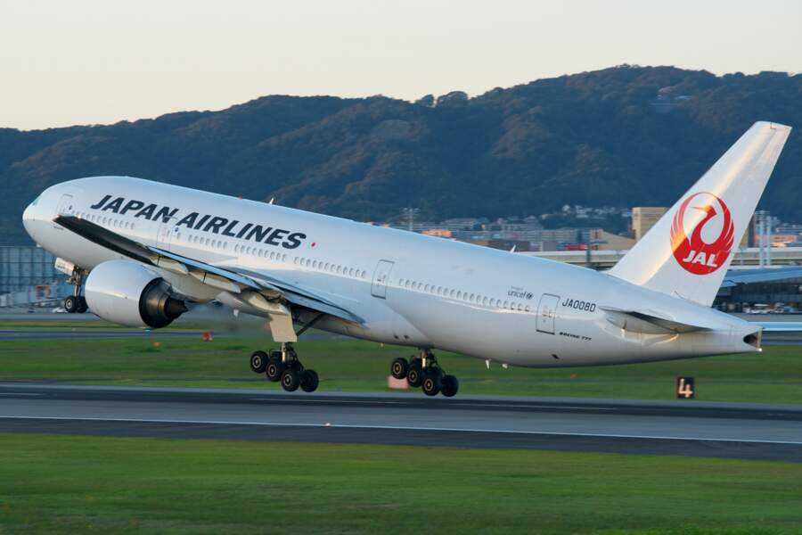 5 - Japan Airlines
