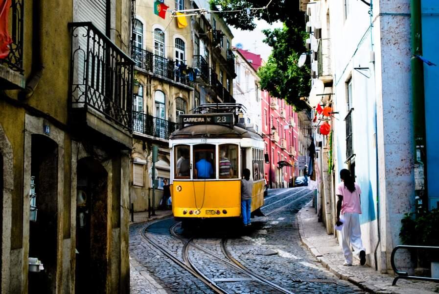 Le tramway, vedette de Lisbonne