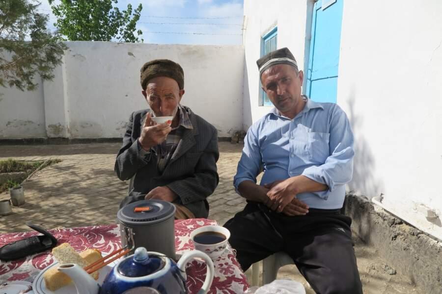 Pause café en Ouzbékistan