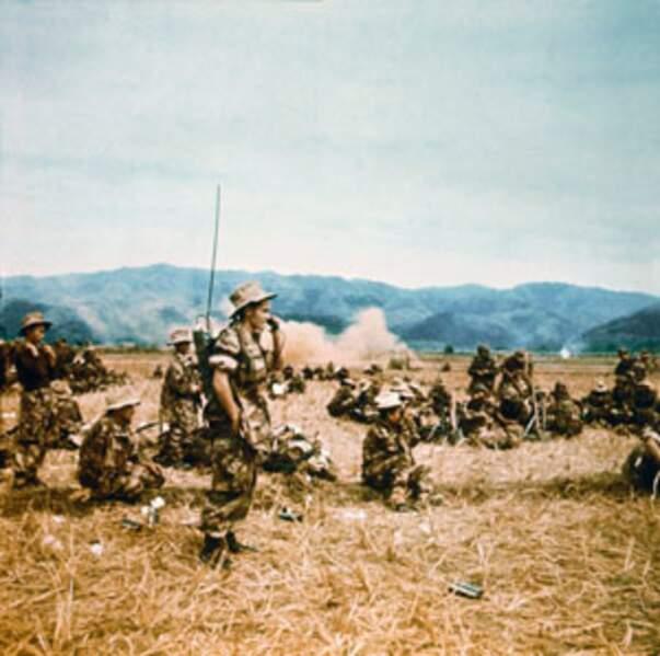 """Avec les troupes de l'opération """"Lorraine"""""""