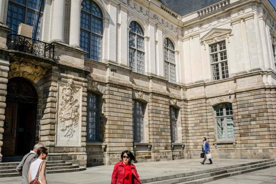 Ancien Parlement de Bretagne, aujourd'hui Cour d'appel de Rennes