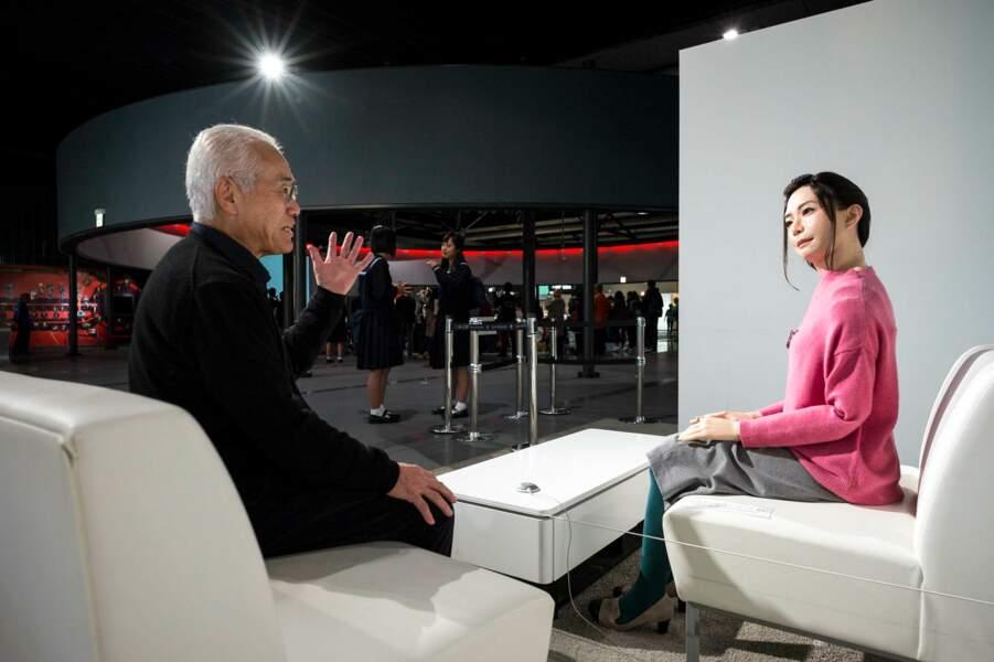 Discussion avec un robot