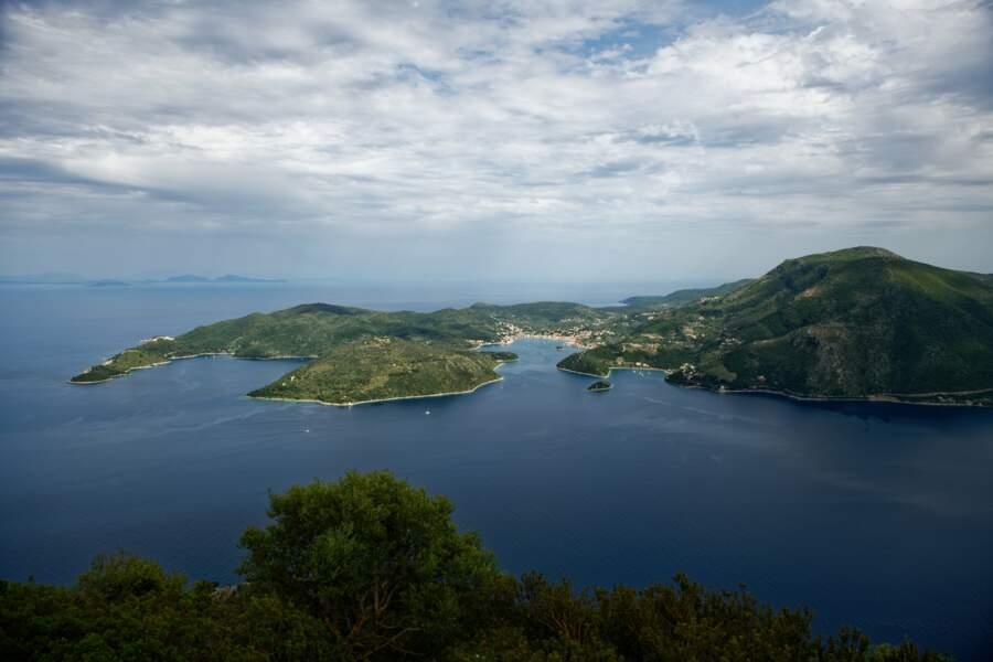 Port de Vathy, principale ville de l'île d'Ithaque