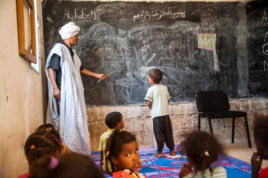 Leçon d'arabe
