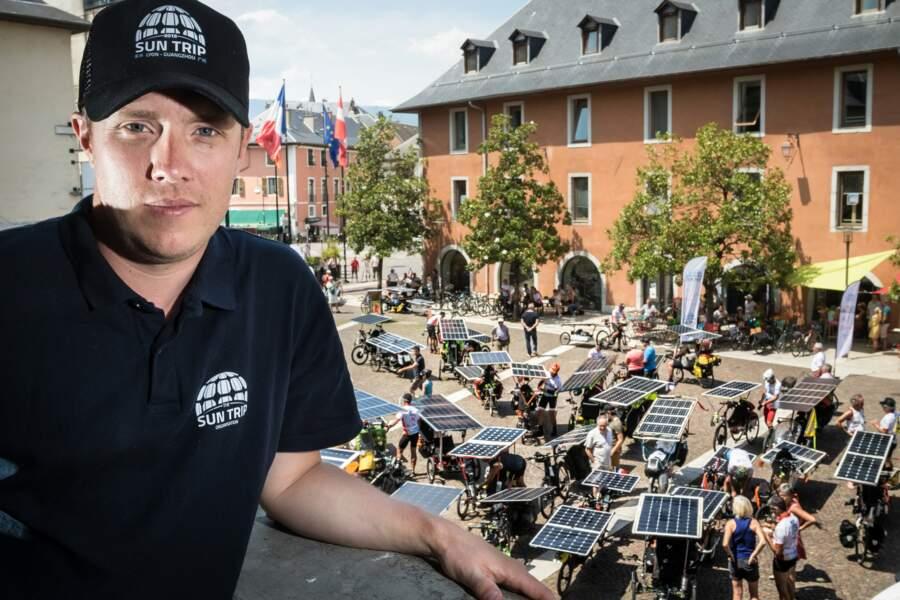 Florian Bailly, l'organisateur du rallye