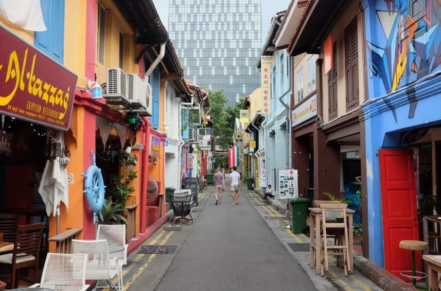 Haji Lane, la rue des artistes