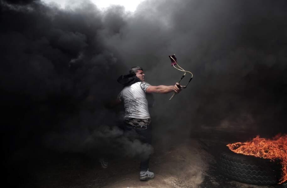 Jets de pierres entre Gaza et Israël