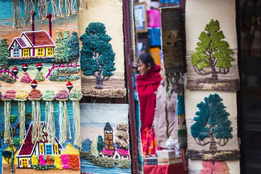 Se balader dans les marchés de Katmandou