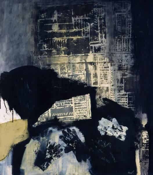 Composition avec 4 gants, 1970, Antoni Clavé