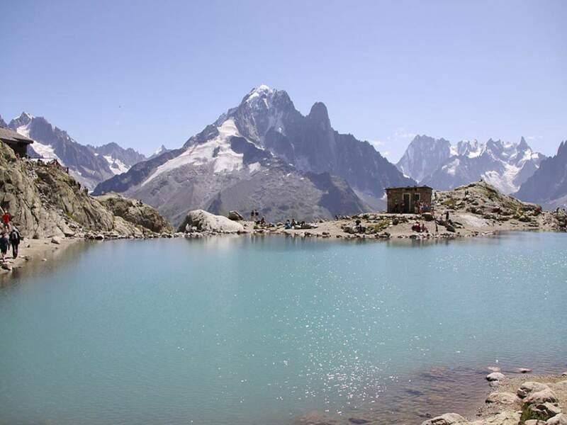 Diaporama n°4 : A Chamonix, envol dans le massif du Mont Blanc