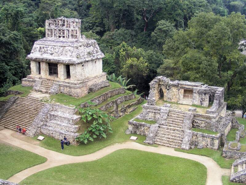 Palenque, dans la jungle du Chiapas