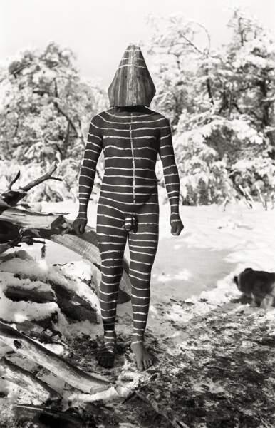 Cérémonie du Hain, rite Selk'nam, 1923