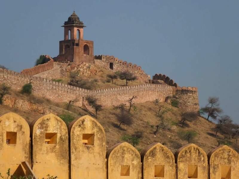Photo prise dans la ville abandonnée d'Amber (Inde) par le GEOnaute : voyaj'heur33000