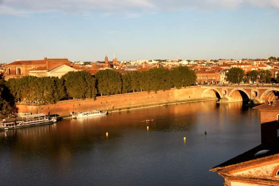 Un bol d'air en bord de Garonne