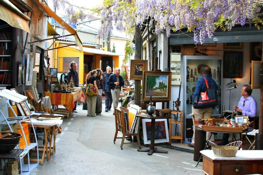 Shopping aux Puces de Saint-Ouen