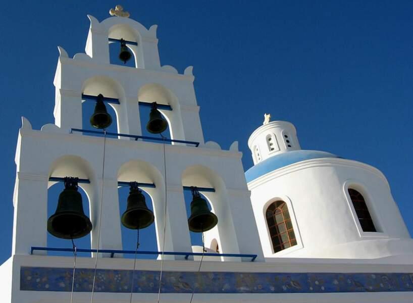Église de Panagia de Platsani à Oia, Santorin