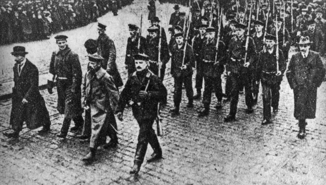 29-30 octobre 1918 : les marins allemands se mutinent