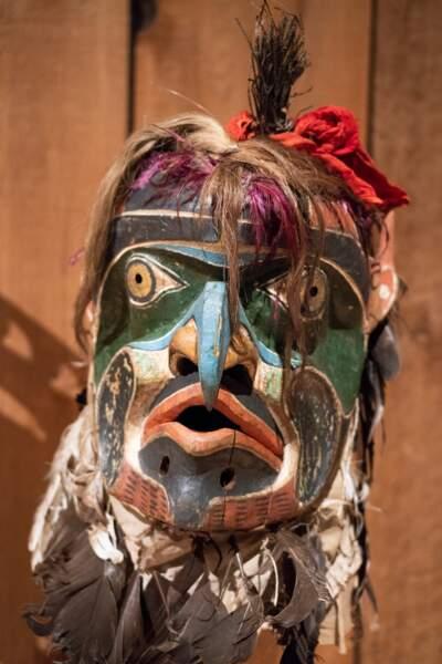 Le masque de l'homme chthonien