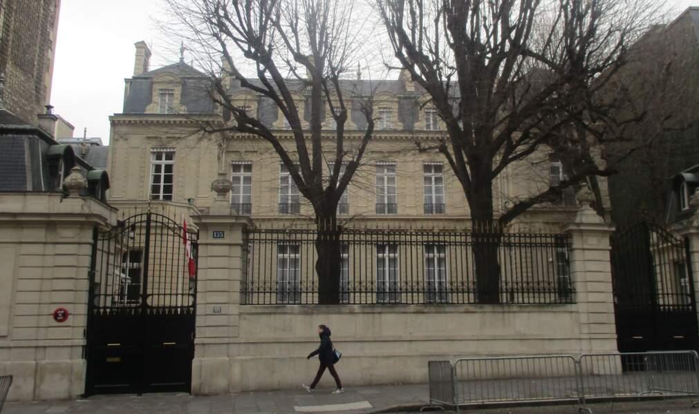 Résidence de l'ambassadeur du Canada, à l'Hôtel de Rigny, dans Paris