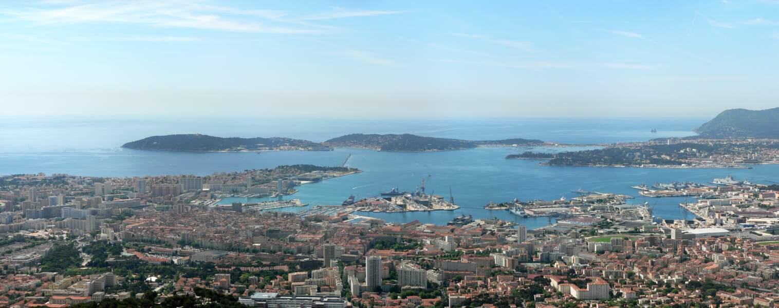 La rade, cœur historique et économique de Toulon