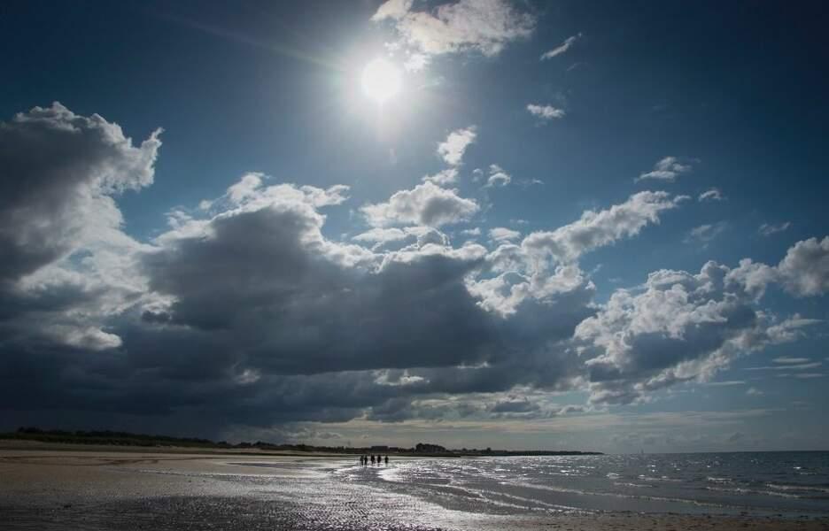 Photo prise à Courseulles-sur-Mer (Basse-Normandie) par le GEOnaute : ktié