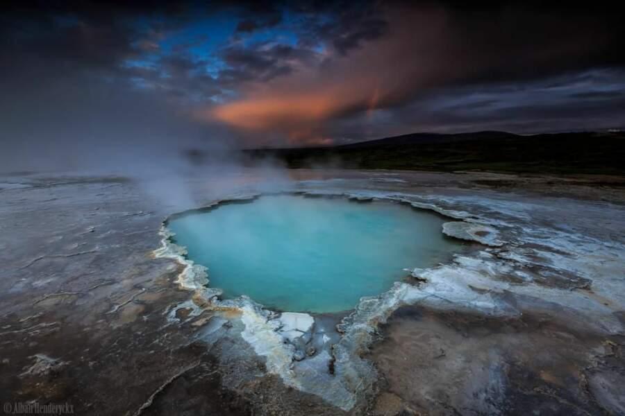 Photo prise en Islande par le GEOnaute : AlbanHenderyckx