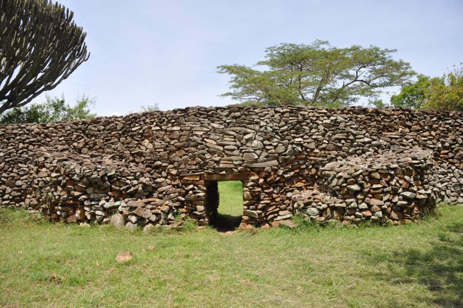 Site archéologique de Thimlich Ohinga, au Kenya