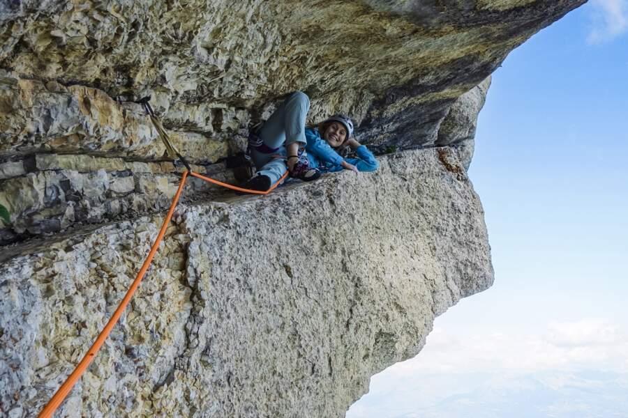 La falaise de Ceüse, dans les Hautes-Alpes, où l'on trouve l'une des voies les plus dures au monde : Biographie