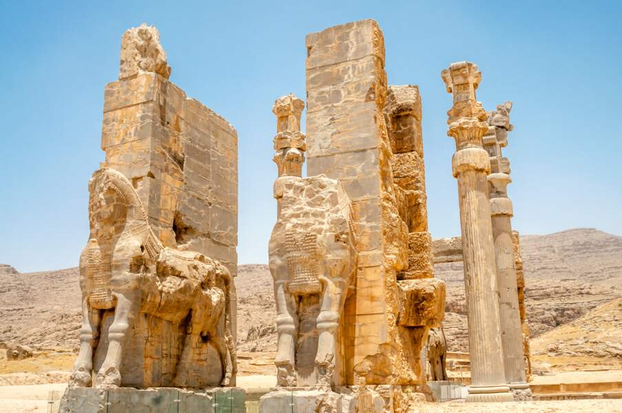 Porte des Nations (ou Porte de Xerxès), à Persépolis