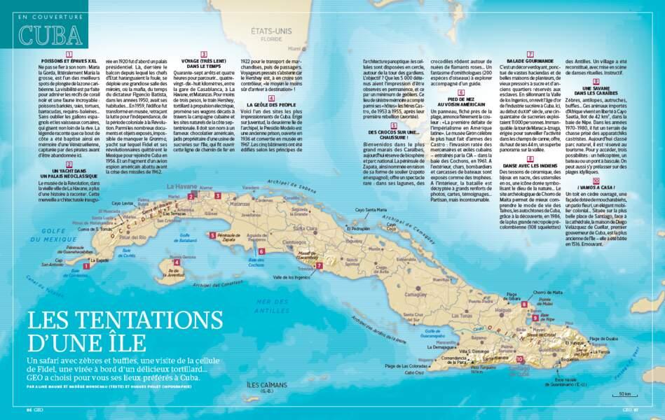 EN COUVERTURE : Cuba, les tentations d'une île
