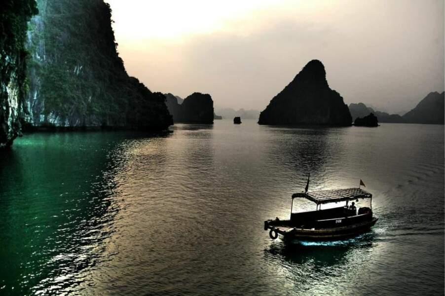 La baie d'Hạ Long