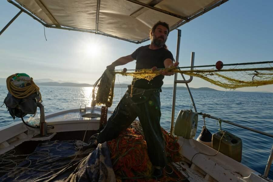 Andreas, pêcheur en mer Ionienne