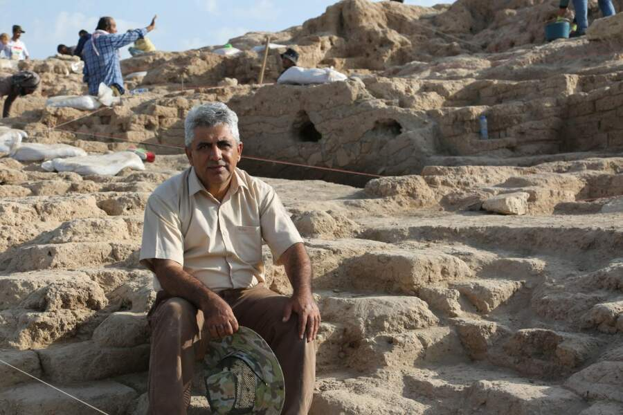 L'archéologue kurde Hasan Ahmed Qasim