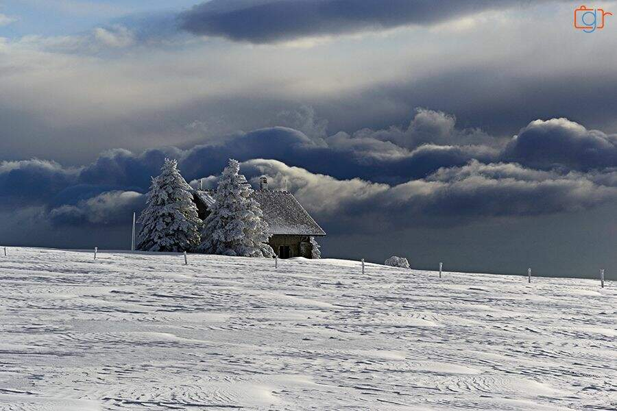 Photo prise au Creux-du-Van (Suisse), par GregR