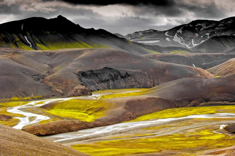 Landmannalaugar, Islande