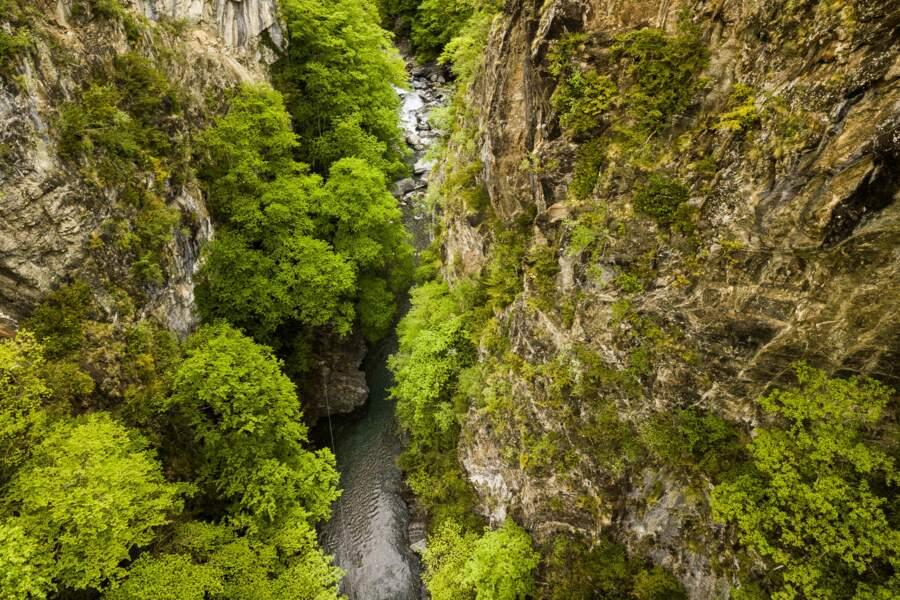 Gorges de Luz-Saint-Sauveur (Hautes-Pyrénées)