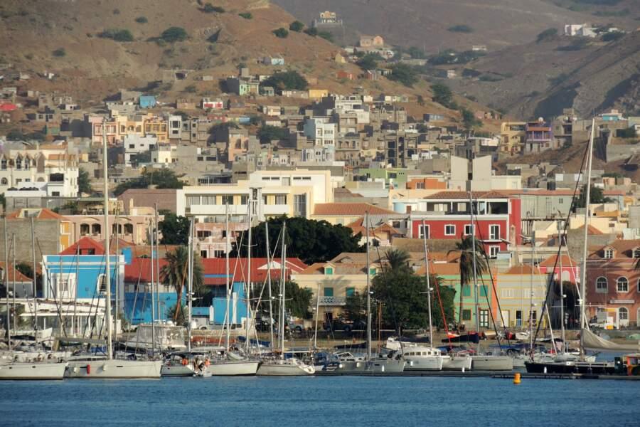 La ville de Mindelo, à São Vicente