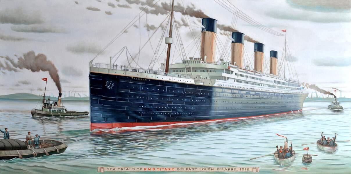 Dans la nuit du 14 au 15 avril 1912 : le naufrage du Titanic