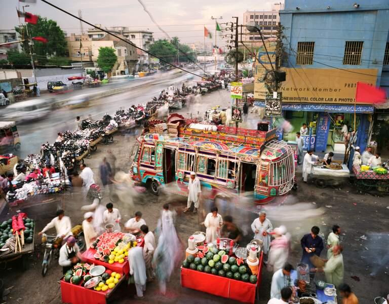 Karachi, capitale économique du Pakistan