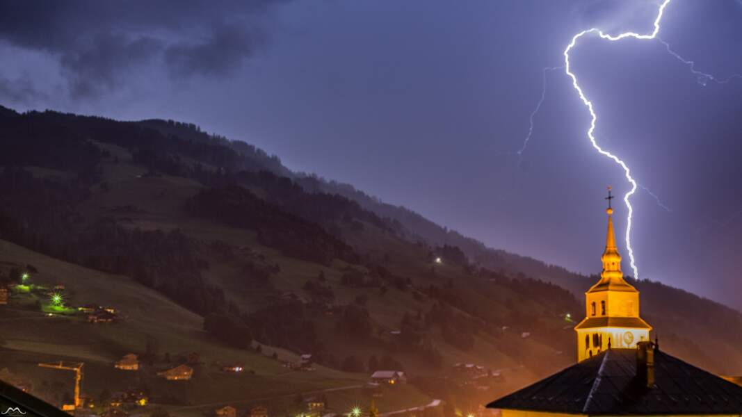 Arêches (Savoie), 30 juin 2016 : impact noyé sous les précipitations