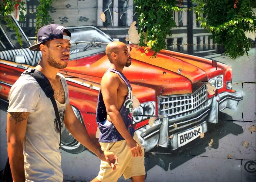 Le hip-hop fait le mur