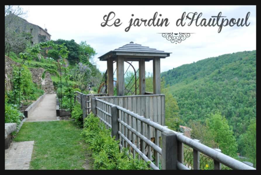 France - Le jardin médiéval d'Hautpoul