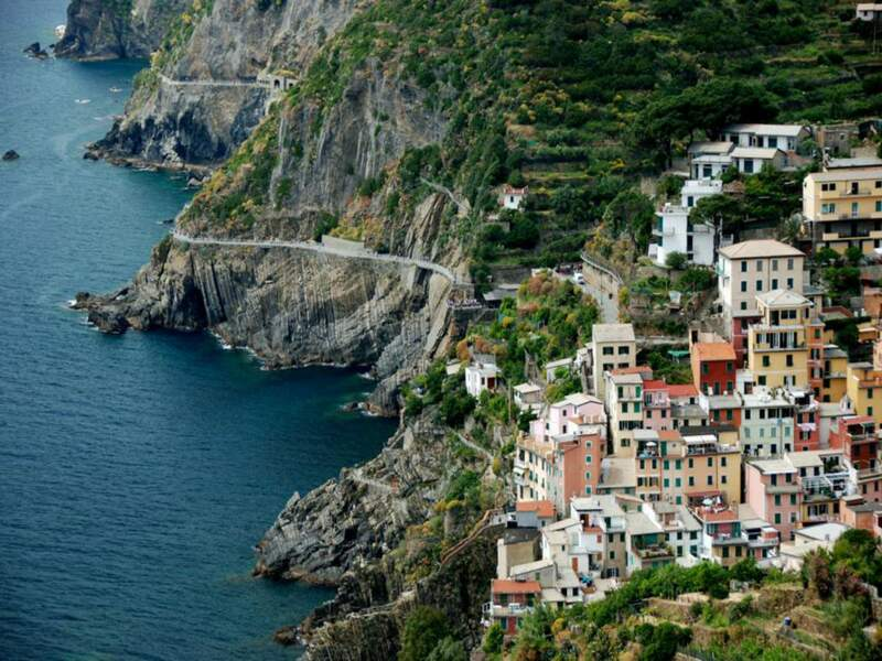 Diaporama n°2 : Italie : sur les falaises de Cinque Terre