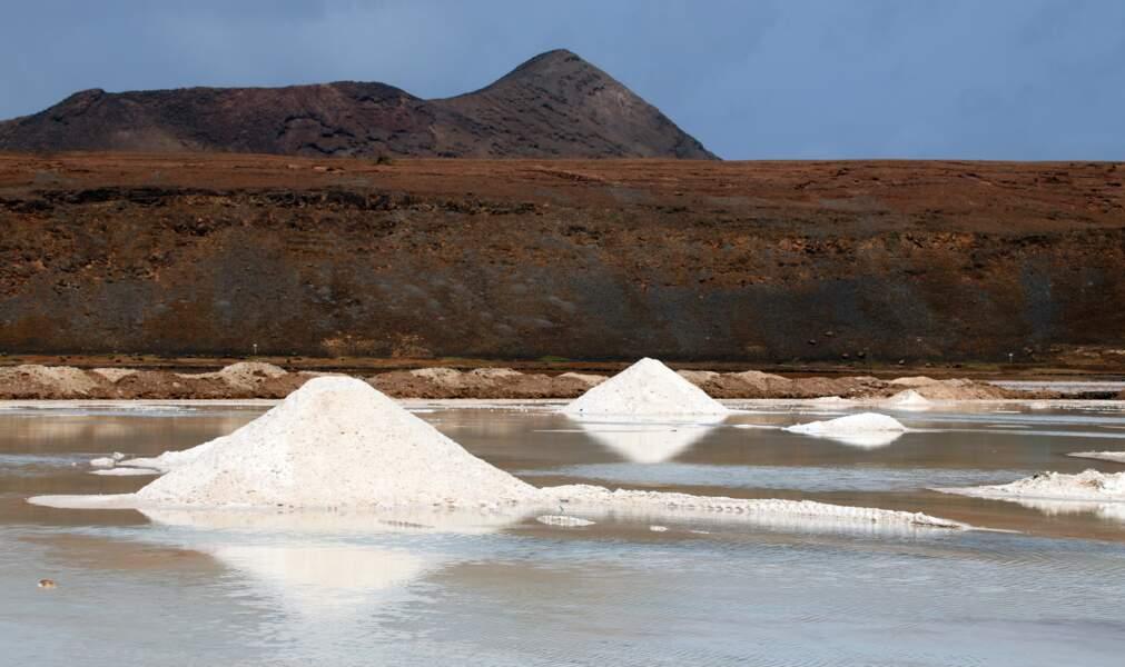 Salinas de Pedra de Lume, sur l'île de Sal