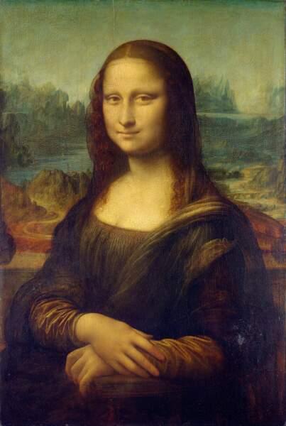 La Joconde, Léonard de Vinci (entre 1503 et 1506)
